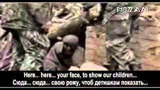 チェチェンで戦争