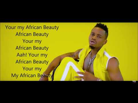 DIAMOND PLATNUMZ ft OMARION -African Beauty (LYRICAL VIDEO)Clean Version