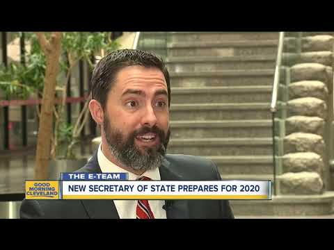 It may be 2019, but new Ohio Secretary of State Frank LaRose is already looking ahead to 2020