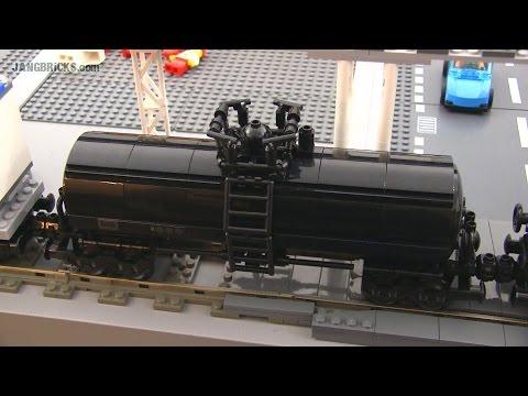 LEGO train Tank Car custom MOC #2