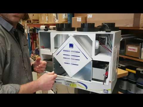 Entretien d'un échangeur d'air H110-TF de Aldes