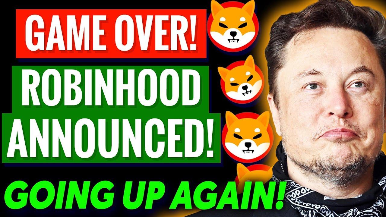 Download RobinHood Just FLIPPED on Shiba Inu Coin! SHIB Price Pump 2021! Shiba Inu Coin News Today!