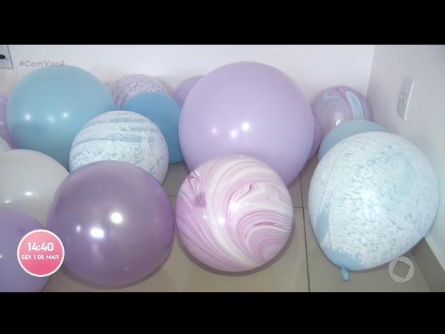 Como deixar a festa mais bonita e sustentável com balões biodegradáveis-    Com Você
