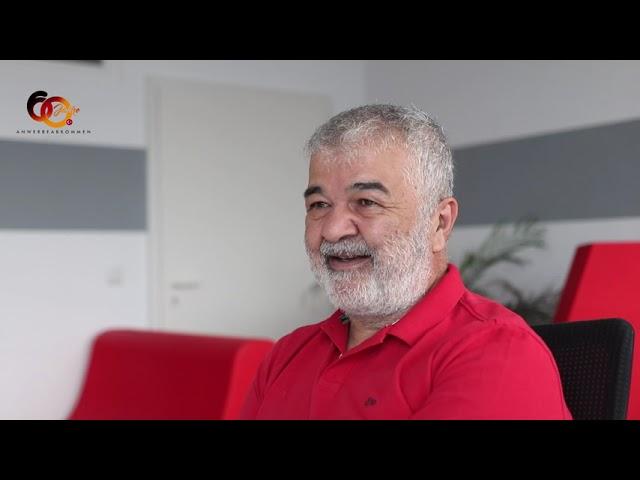 Vorstandsvorsitzender TGD Gökay Sofuoğlu im Gespräch mit Nejdet Niflioğlu