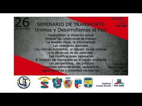 PIT-CNT Seminario de transporte 1 PLENARIO