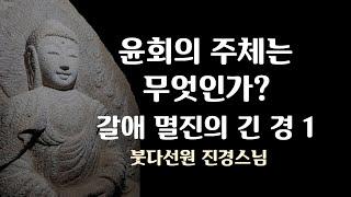 무아의 윤회, 윤회의 주체는 무엇인가? 갈애 멸진의 긴경  2018년 11월