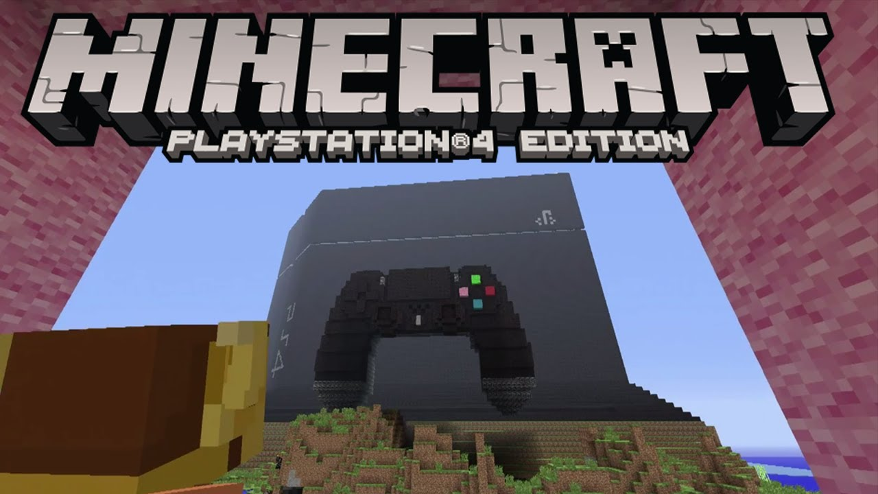 Minecraft Playstation 4 Edition PS4  E3 Official