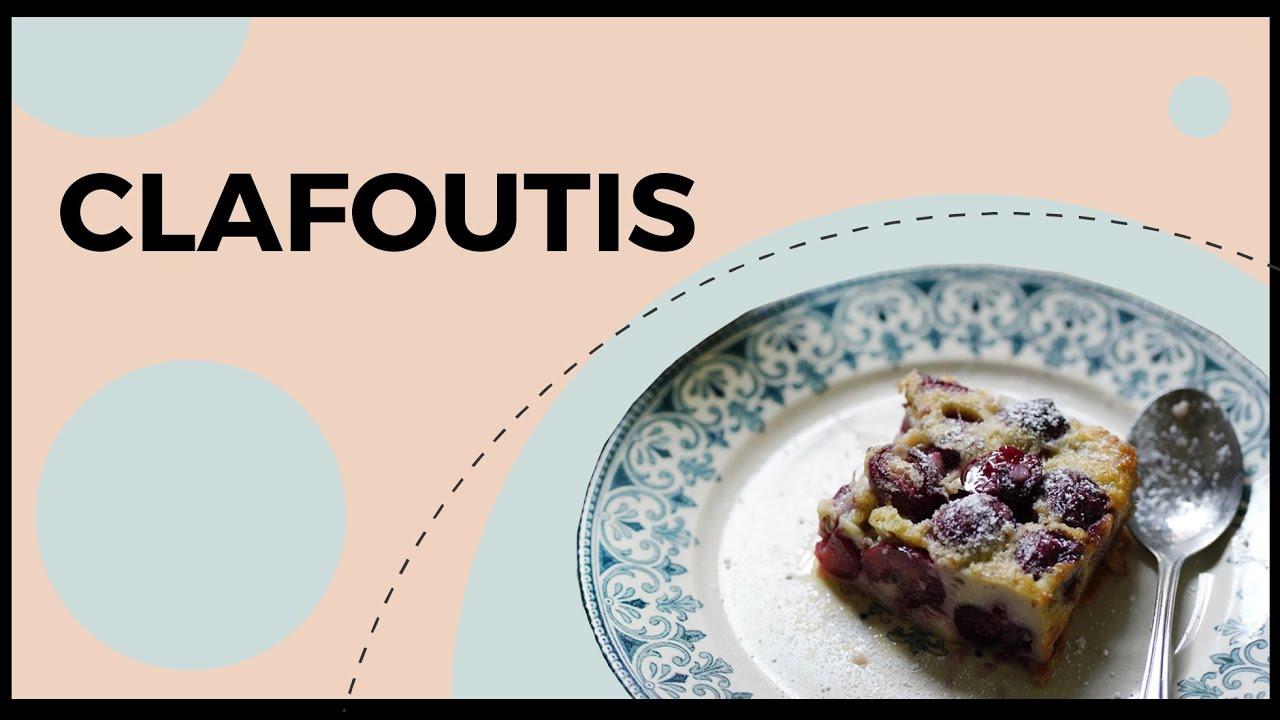 Receita de CLAFOUTIS | Le Plat du Jour