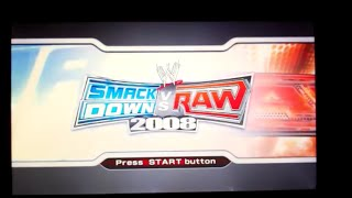 WWE SmackDown! vs. RAW 2008 (PS3)