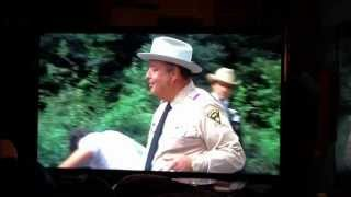 Smokey and the bandit my fav part with Jackie Gleason