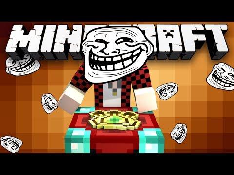 Minecraft: MITCH THE TROLL! - (The Four Castles!) - w/Preston & Friends!