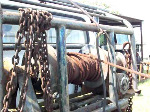 Gin pole truck moreover oil field truck and trailer moreover gin pole