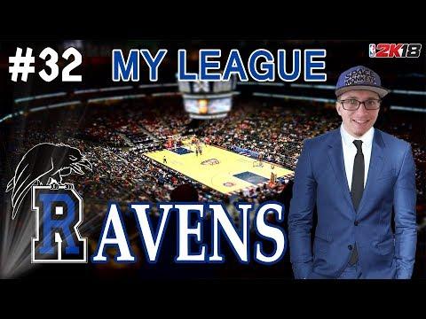 NBA 2K18   MY LEAGUE   RALEIGH RAVENS #32 : FINALE NBA GAME 4