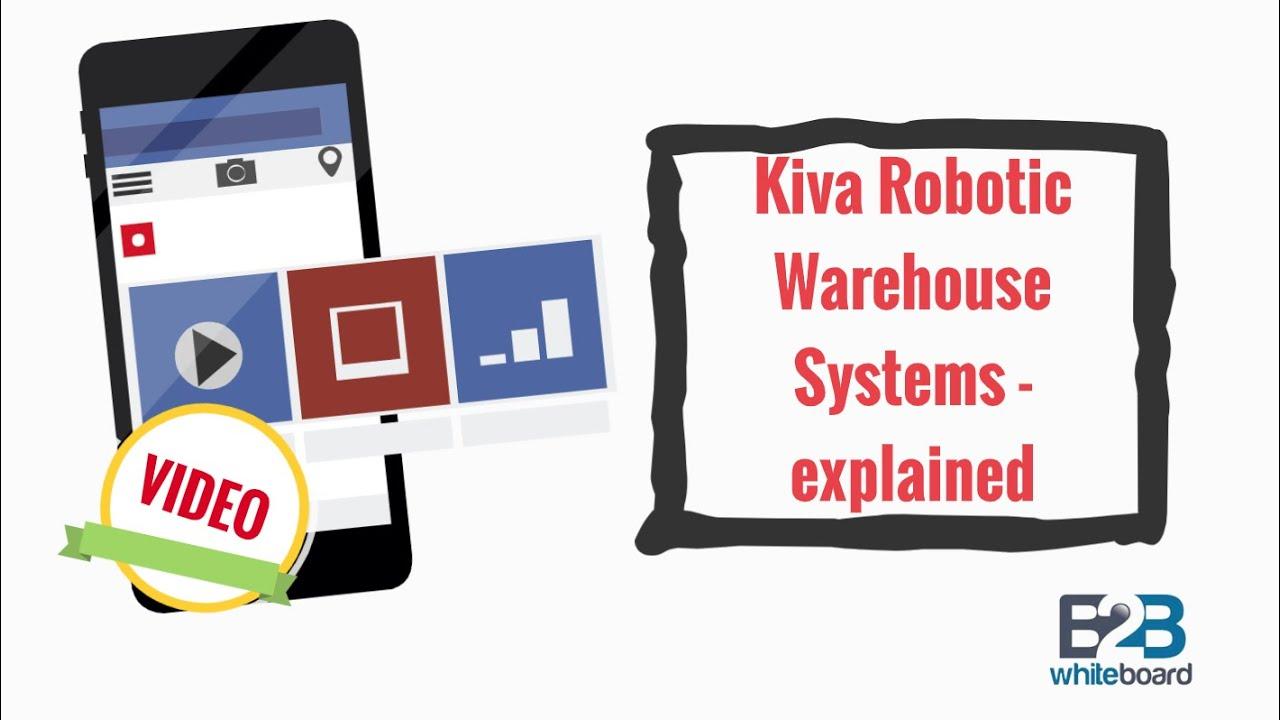 Kiva Robotic Warehouse Systems - explained
