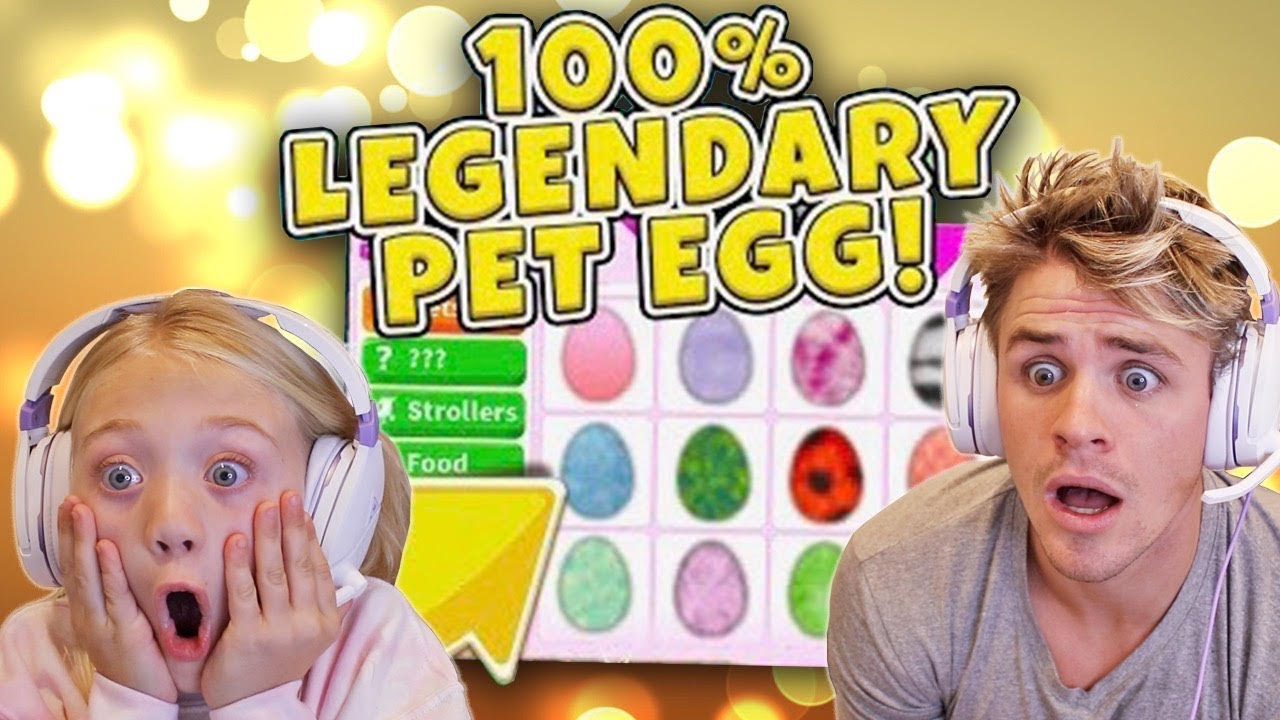 I Hatched 100 Mystery Eggs In Roblox Adopt Me And This Is What We Got!!!