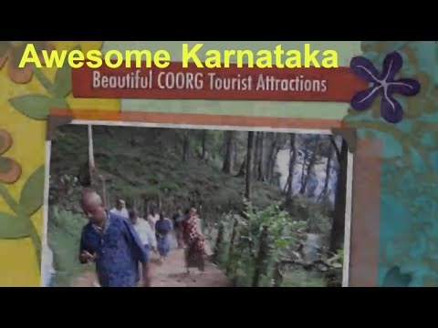 Amazing COORG India Karnataka Great Holiday Destination : Major Tourist Attractions