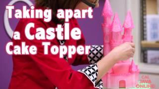 How to Make A Princess Castle Cake | Cake Tutorials