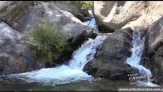 Ardèche - La Cascade du Pas de Fer (vers le Ray Pic) (4K)