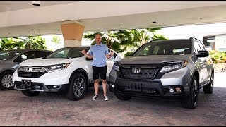 2019 Honda CRV vs 2019 Honda Passport - 2 great choices, 1 winner