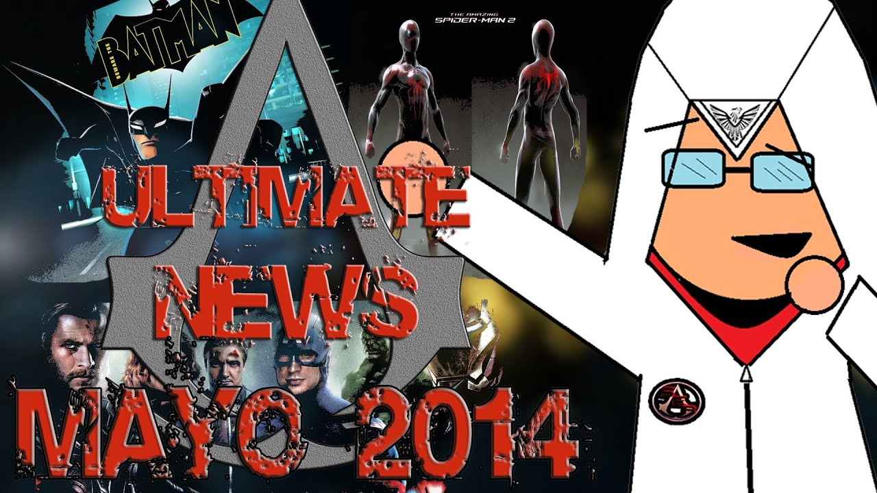 Ultimate News//Ep 1: The Avengers Videogame, Concept Art TASM 2 y Mas