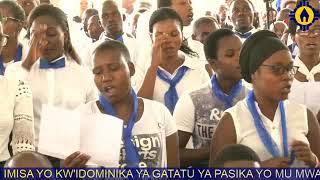 Ganza Mwana wa Mariya Watsinze Urupfu - Sanctuaire Mont Sion Bujumbura
