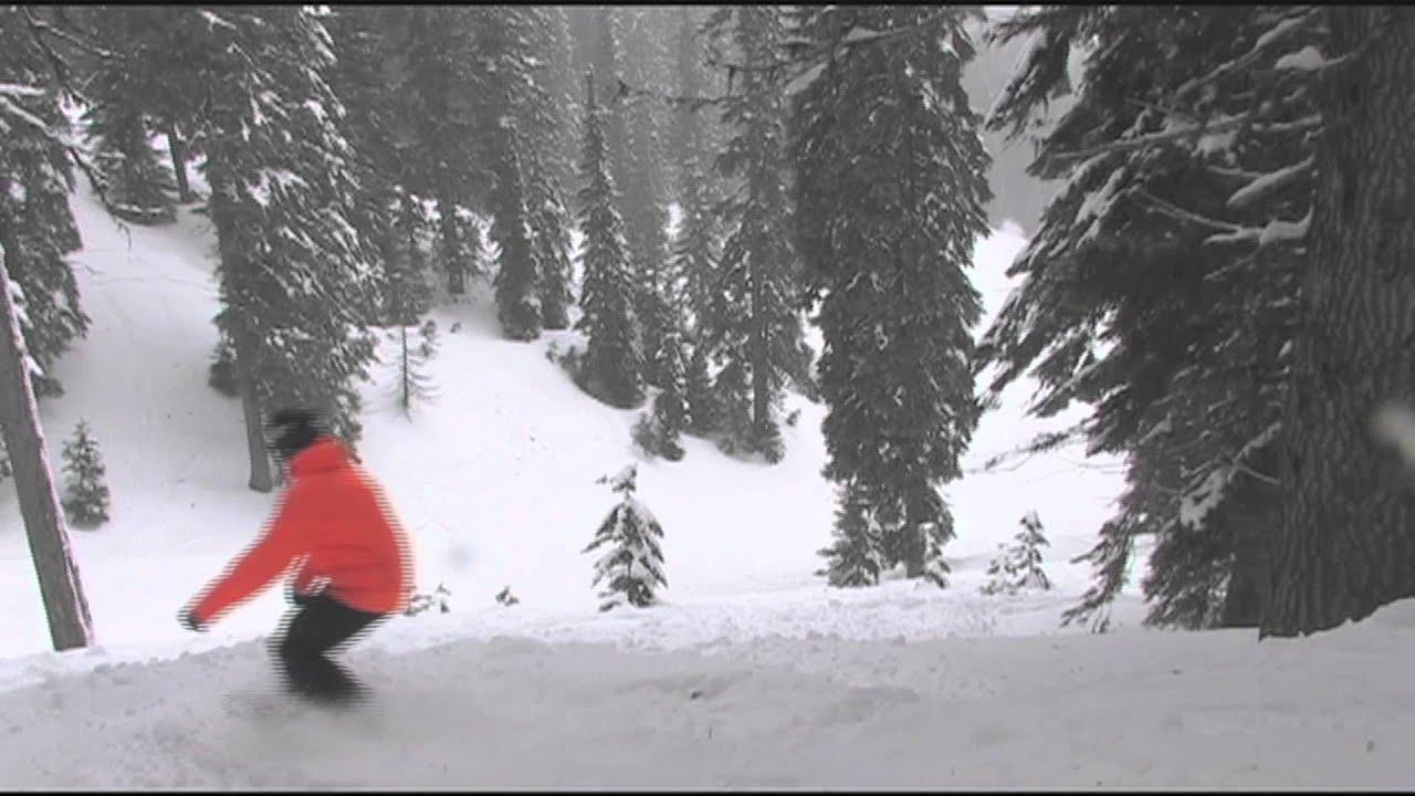ski bluewood - youtube