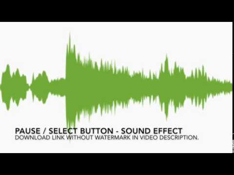 Select Pause Button Sound Effect - Download Audio SFX