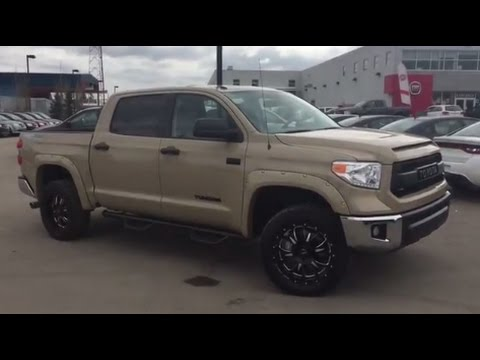 2017 Toyota Tundra Trd Four Wheel Drive Crew Max Cab In Quicksand 17rc602320