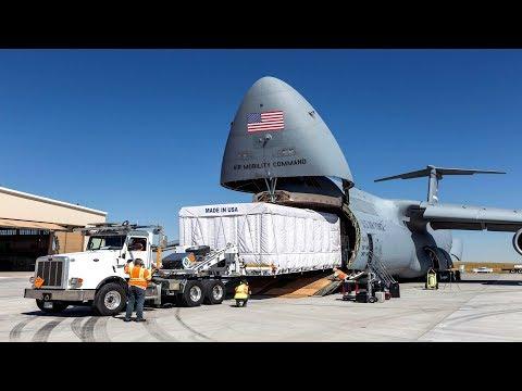 ALERT (Jan. 8, 2020) US Largest Cargo Plane. C-5 Galaxy Surprising Nickname