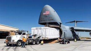 ALERT (Jan. 8, 2020) US Largest Cargo Plane. C-5 Galaxy Surpri…