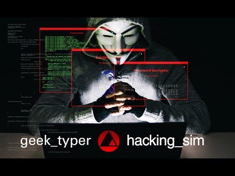 GEEKTyper com - Hacking Simulator