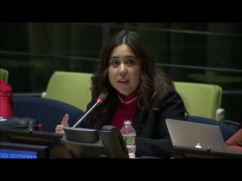 H.E. Lana Nusseibeh Speaking at the UN Observance of International Women's Day 2017