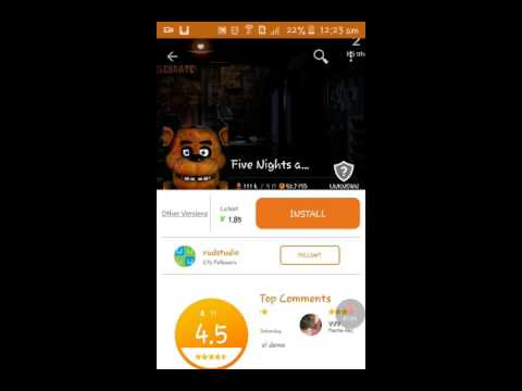 How to download Five Nights at Freddy's in Android free