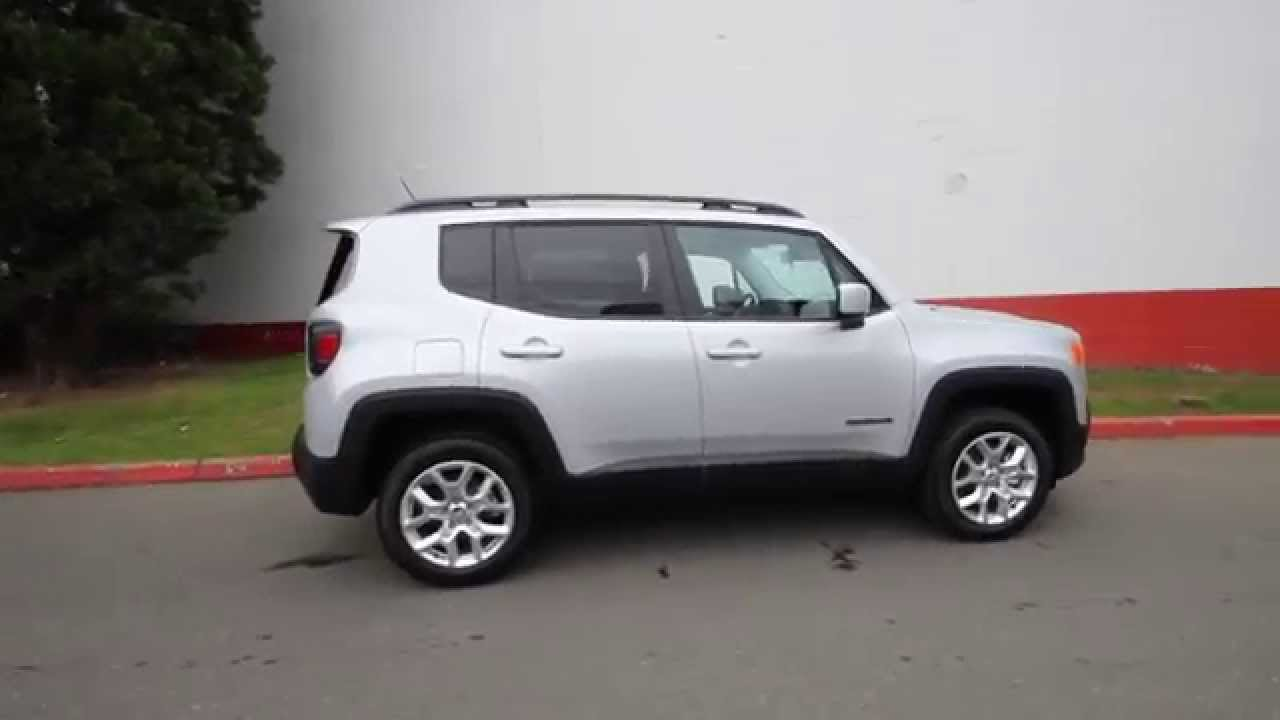 Jeep Renegade Limited >> 2015 Jeep Renegade Latitude | Glacier Metallic | FPB27994 | Redmond | Seattle - YouTube
