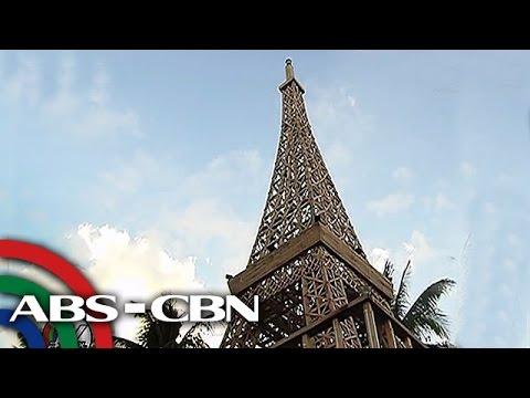 TV Patrol: Eiffel Tower na gawa sa kahoy, kawayan itinayo sa Romblon