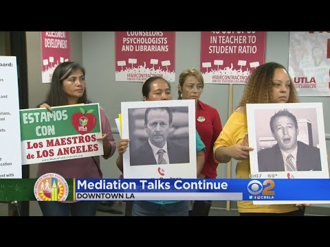 LAUSD, UTLA Mediation Talks Continue
