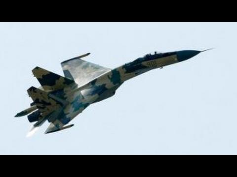 Russian fighter jets, bombers intercepted off Alaskan coast