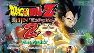 DBZ Shin Budokai 2 RDF Mod Com Todos Personagens Liberados PPSSPP©
