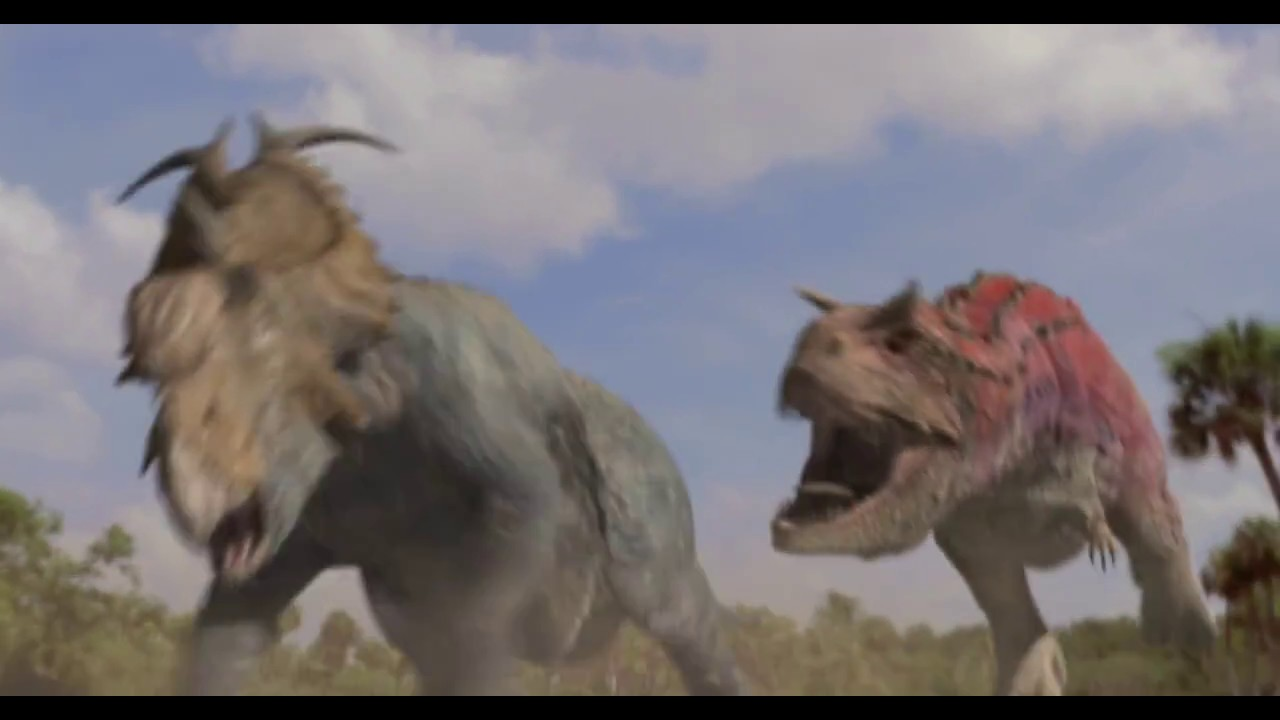 disneys dinosaur the carnotaurus attack scene hd - Dinosaure Disney