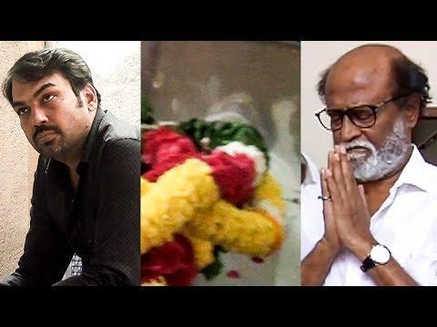 Rajinikanth, Rangaraj Pandey and more personalities pay last respect to Writer Gnani   RN 136