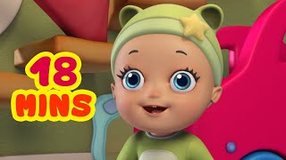 Baby Likes To Play - Baby Songs & Rhymes Collection | Infobells