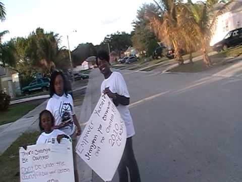 Miami Dade NAACP Youth Council 2010 Census Walk: Part 3
