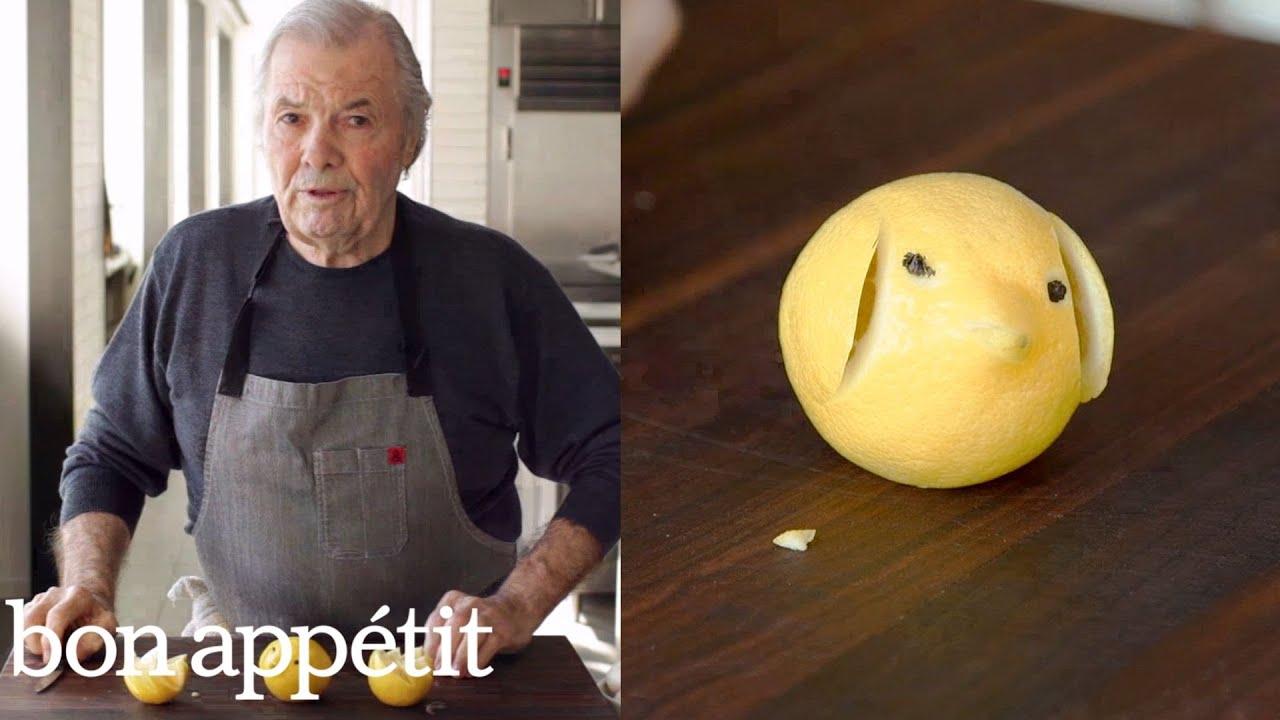 Jacques Pépin Makes a Lemon Pig | Bon Appétit