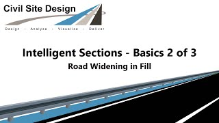 Civil Site Design - Intelligent Sections - (Conditional Design) 2 of 3