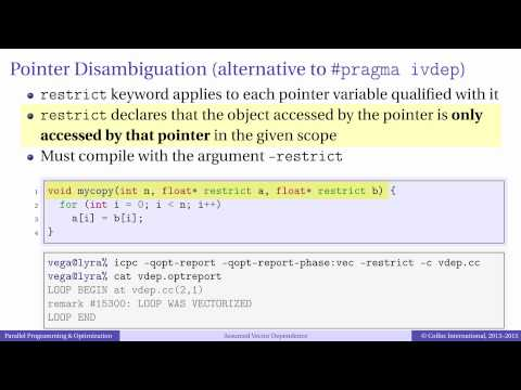 Episode 4.3 - Assumed Vector Dependence and Pointer Disambiguation