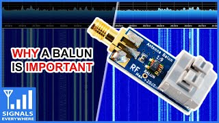 SDR Nooelec 1:9 Balun | Why Impedance Matters in Radio