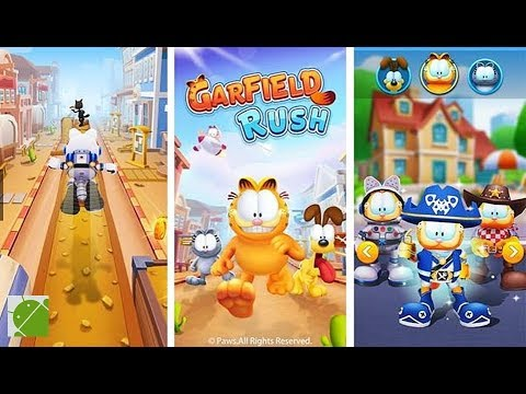 Garfield Rush Android Gameplay Fhd Youtube