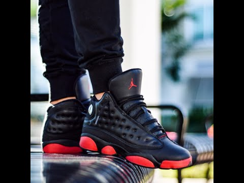 On Feet  Air Jordan XIII (13) Retro   Dirty Bred   8a8e3cc00740