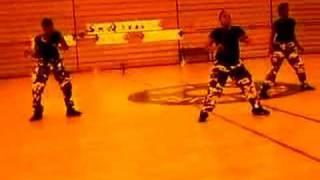 da movement dance squad practice