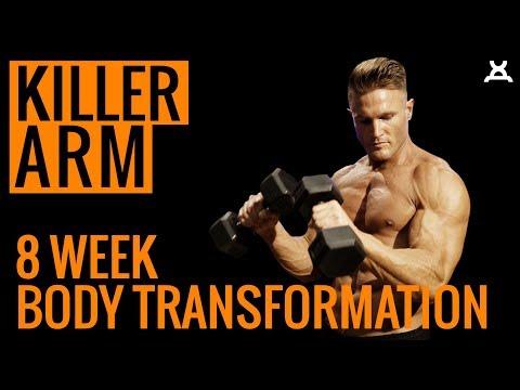 KILLER ARM WORKOUT | 8 Week Body Transformation